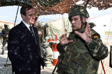 Cuartel General Terrestre de Alta Disponibilidad de la OTAN, en Bétera, Valencia.