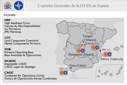 Quarters Generals de l'OTAN a España