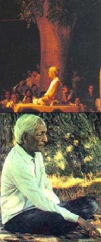 Jiddu Krishnamurti en Brockwood Park, The Krishnamurti Center, Bramdean, Inglaterra.