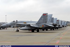 line up Spanish Air Force TLP 2009-2