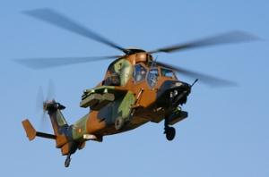 helicóptero de asalto TIGRE, Ejército español, 2009.